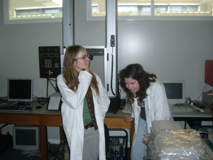 In the lab, 2008