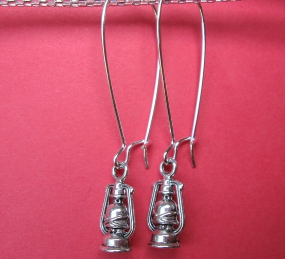 These aren't my exact earrings but they are nearly identical.