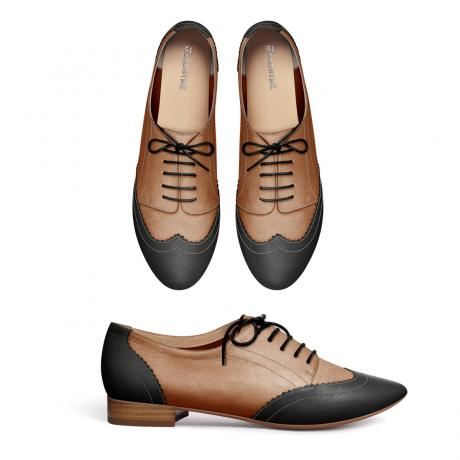 Black and tan brogues - it's not so hard after all!