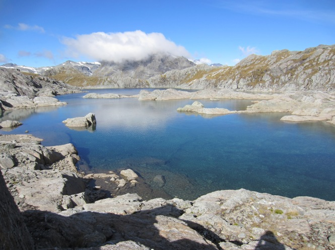 Unnamed lake in the Humbolt Mountains near Lake Nerine