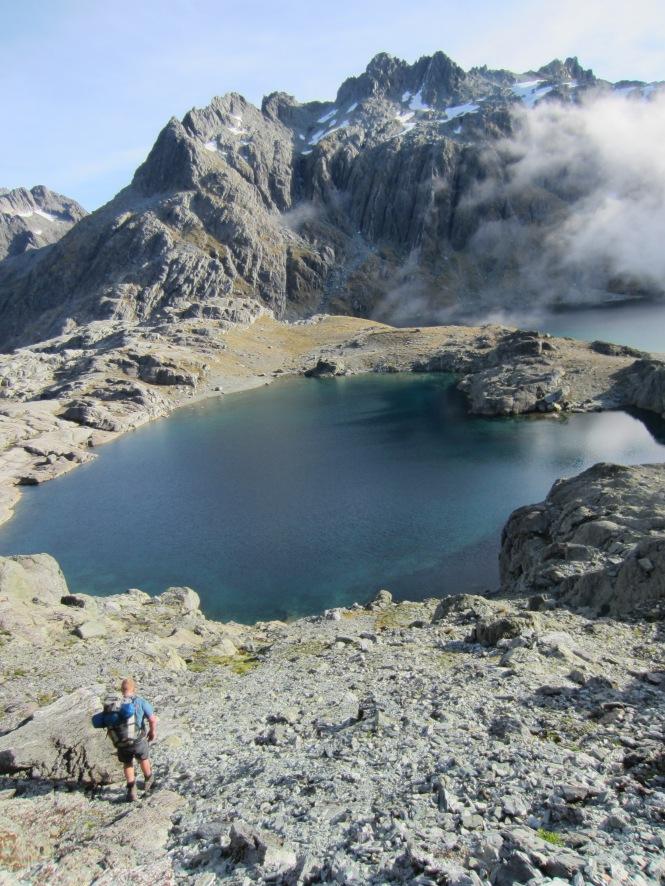 Descending into Lake Nerine