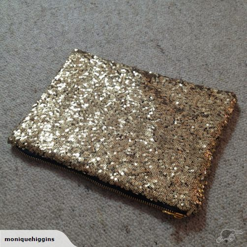 Sequin Clutch.  $1 as of posting or $20 buy now.  Ends Mar 10