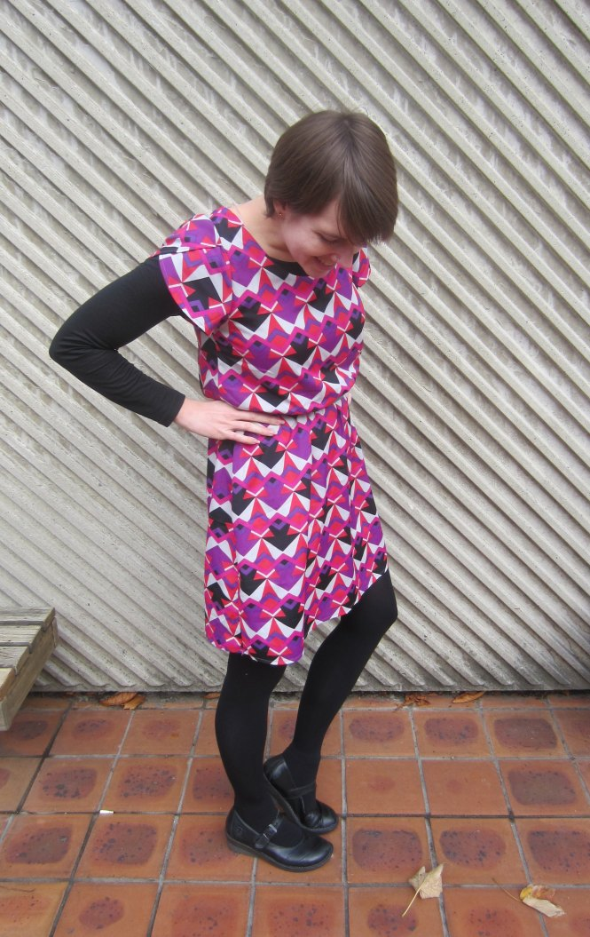 dress: modcloth, top: my ex-work, shoes: dr. marten