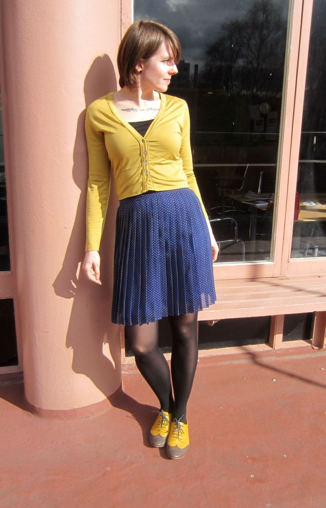 top: my ex-work, skirt: Trademe (modcloth). shoes: Mood by Me custom brogues