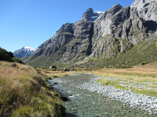 North arm of the Routeburn, Feb 2013