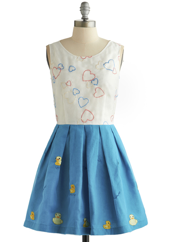 A recent dress on Modcloth's Be the Buyer