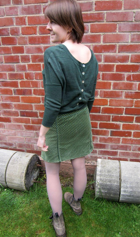 jumper: kinki gerlinki, skirt: vintage (trademe), boots: Dr. Martens