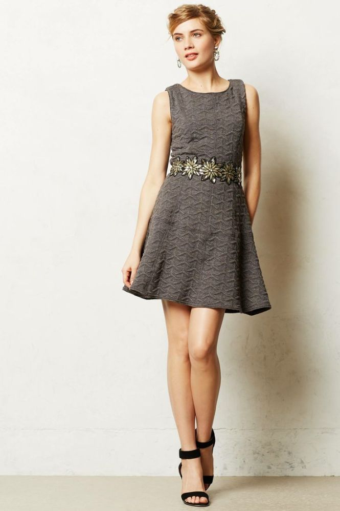 Anthropologie Tori Dress $320 - love the fabric, the cut and the detail at the waist!