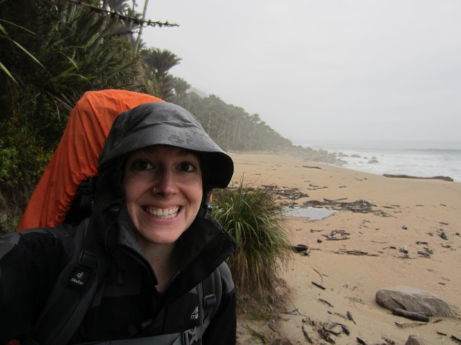 Dec 29: Tramping the west coast in the rain!