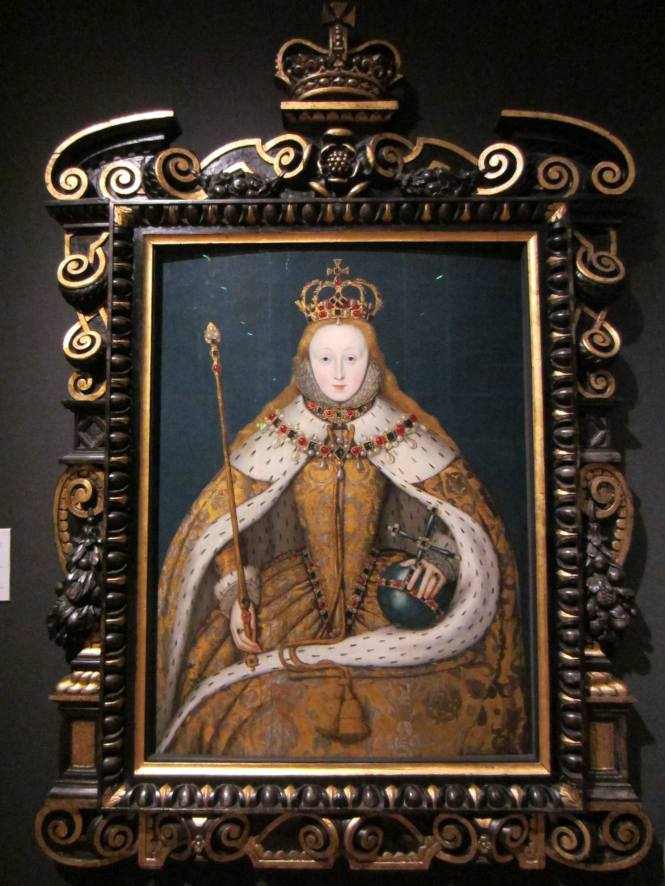 Queen Elizabeth in the National Gallery
