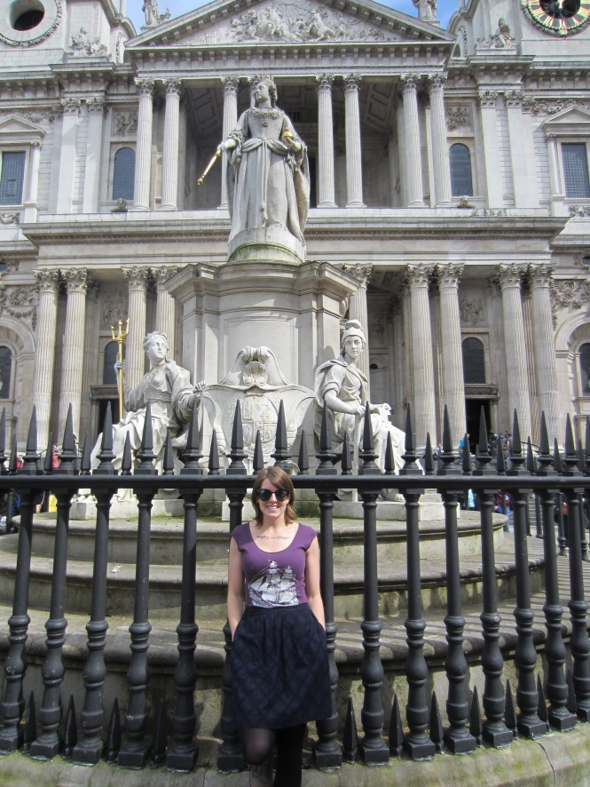 In front of St. Pauls