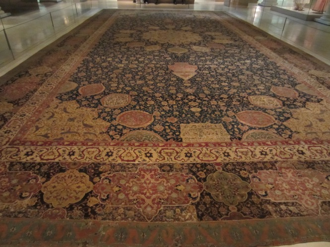 The Ardabil Carpet - dates from the 1500s