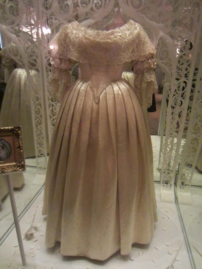 Queen Victoria's wedding Dress (Kensington Palace)