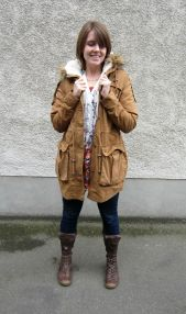 coat: ASOS, tunic: shanton, jeans: 7 for all mankind, boots: eject (trademe)