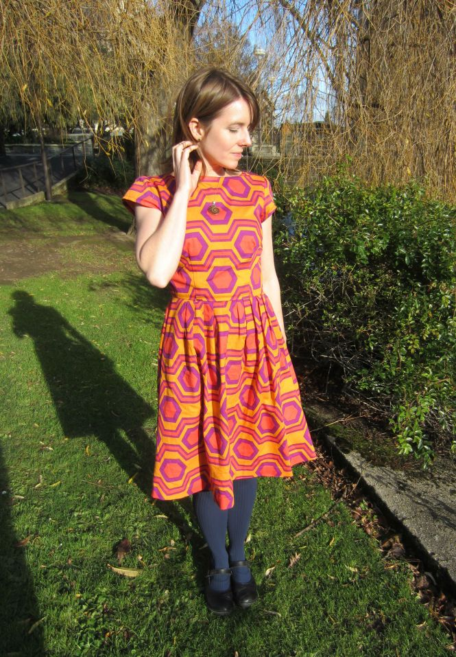 Full dress - yes that is a lot of print