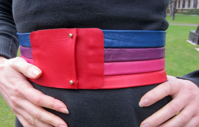 Belt detail!