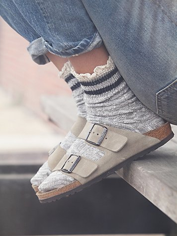 Birkenstocks with SOCKS!