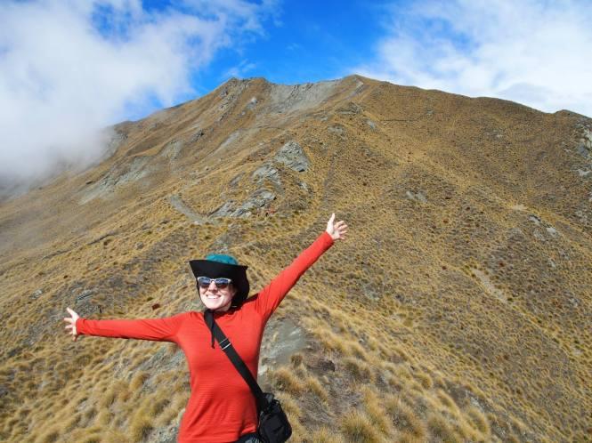 Au revoir, friends!  (Roy's peak near Wanaka, Sept 21 2014)