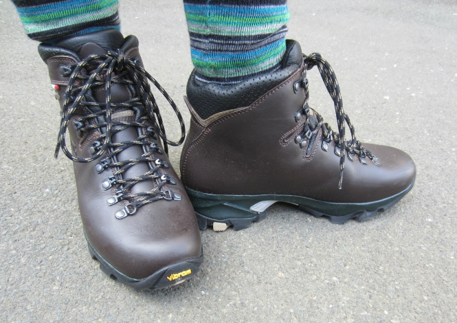 My new tramping boots