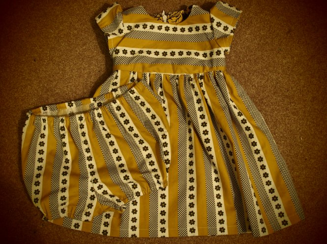 Front of dress with matching pants