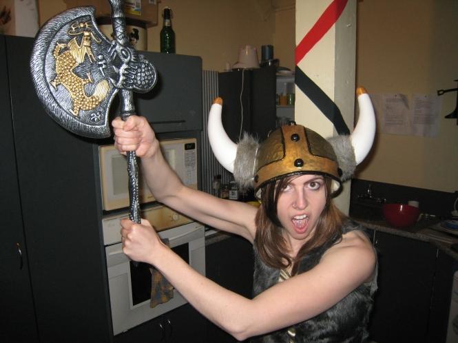 Halloween 2009 - Viking