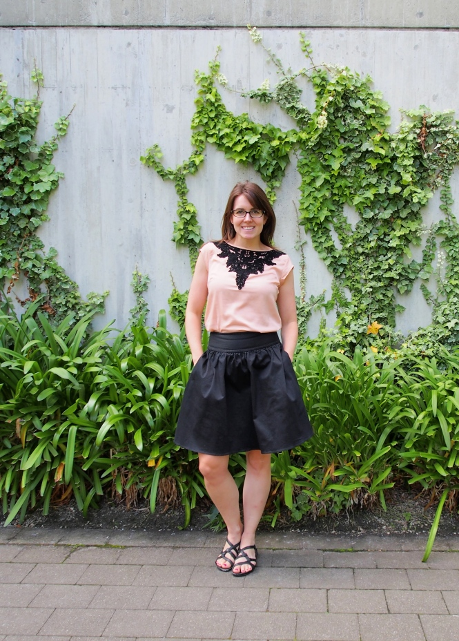 top: the limited, skirt: trademe (portmans), shoes: merrel (soooo old)