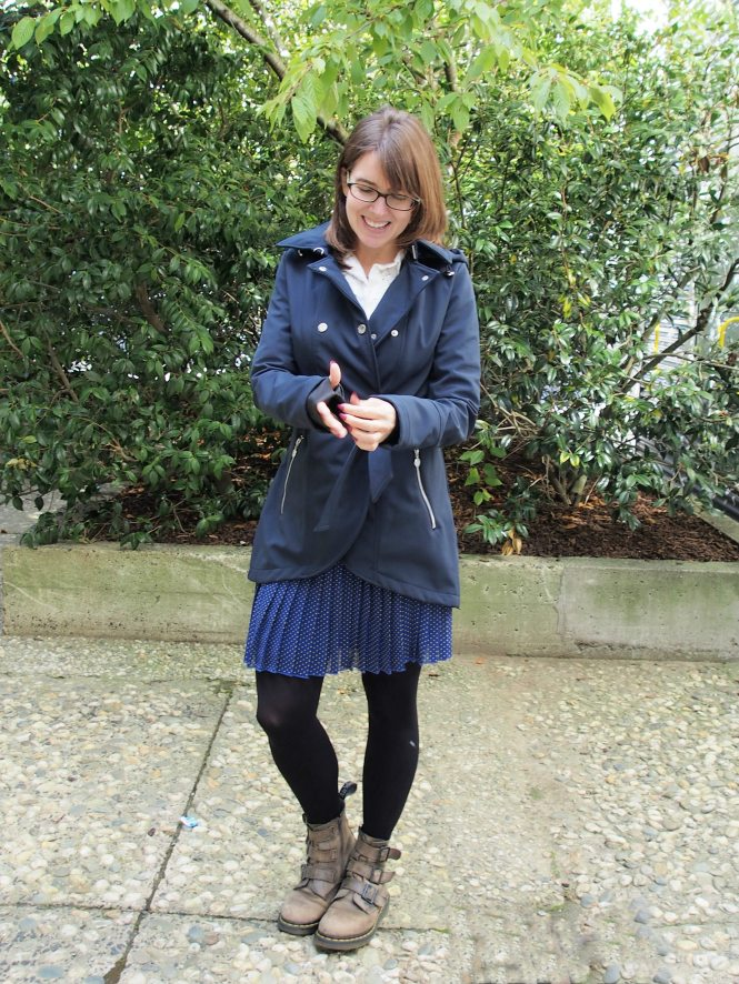 trenchcoat: betsey johnson