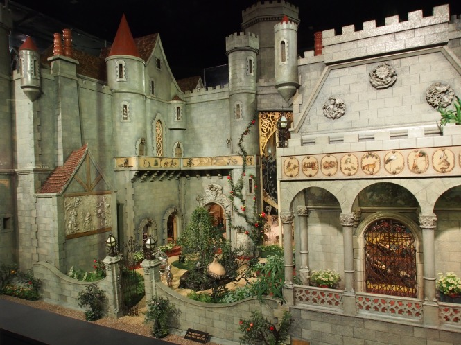 Coleen Moore's Fairy Castle - at the Museum of Science and Industry