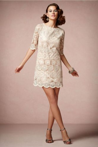 Main inspiration: BHLDN Agata swing dress